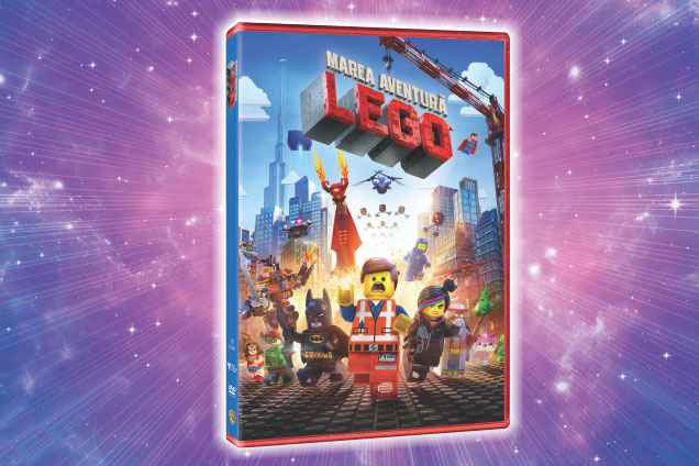 Cadou DVD LEGO Movie
