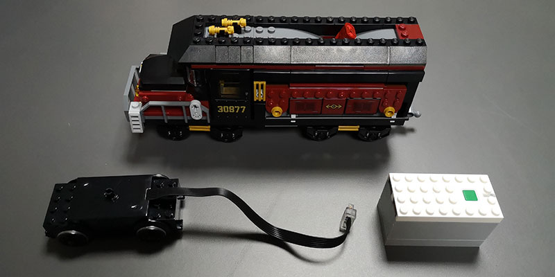Motorizare tren LEGO Hidden Side