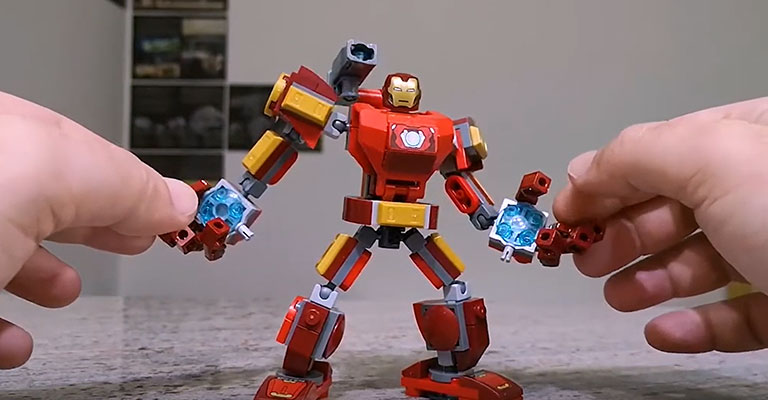 Robotul Iron Man