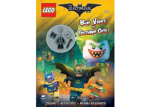 "Carte LEGO Batman ""Bun venit in Gotham City\"""