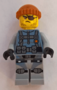 Minifigurina LEGO Ninjago-Movie-Shark Army Thug njo325