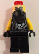 Minifigurina LEGO Ninjago-Sons of Garmadon-Chopper Maroon njo388