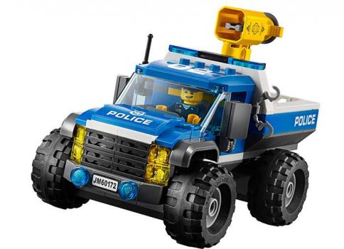 LEGO City Goana pe teren accidentat