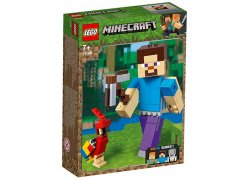 Minecraft Steve BigFig cu papagal