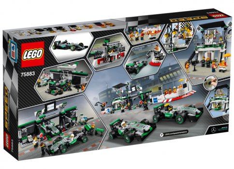MERCEDES AMG PETRONAS Formula One Team LEGO 75883