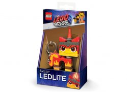 Breloc cu lanterna LEGO Movie 2 Angry Kitty