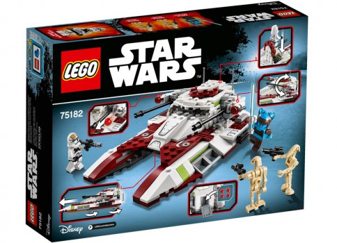 Republic Fighter Tank LEGO 75182