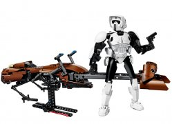 Scout Trooper si Speeder Bike