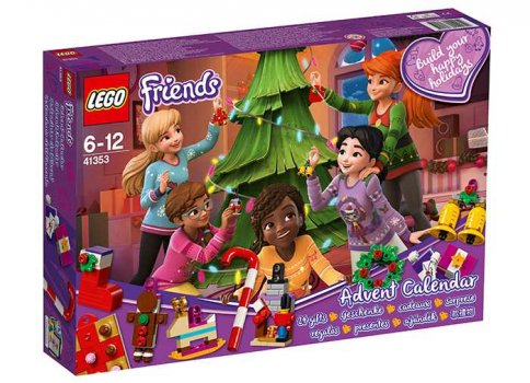 Calendar de Craciun LEGO Friends 2018