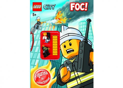 Carte LEGO City Foc