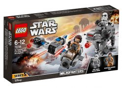 Ski Speeder contra Walker al Ordinului Intai Microfighters