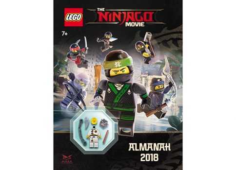 Almanah 2018 LEGO Ninjago Movie cu minifigurina