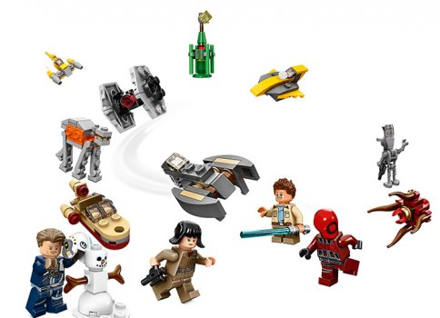 LEGO Star Wars Calendar de Craciun LEGO Star Wars