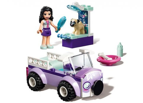 LEGO Friends Clinica veterinara mobila a Emmei