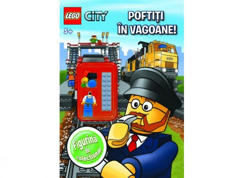 Carte LEGO City Poftiti in vagoane