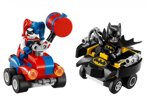 Mighty Micros: Batman contra Harley Quinn