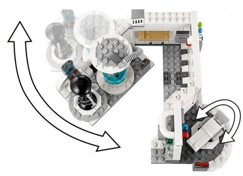 LEGO Star Wars Camera Medicala Hoth