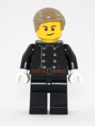 Minifigurina LEGO Baiat pompier in uniforma hol123