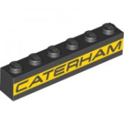 Caramida 6 x 1 decorata - CATERHAM