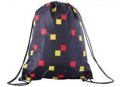 Sac sport LEGO Faces - Negru
