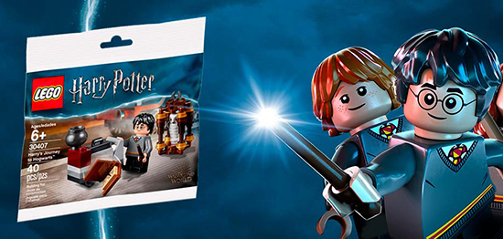 promotie LEGO Harry Potter