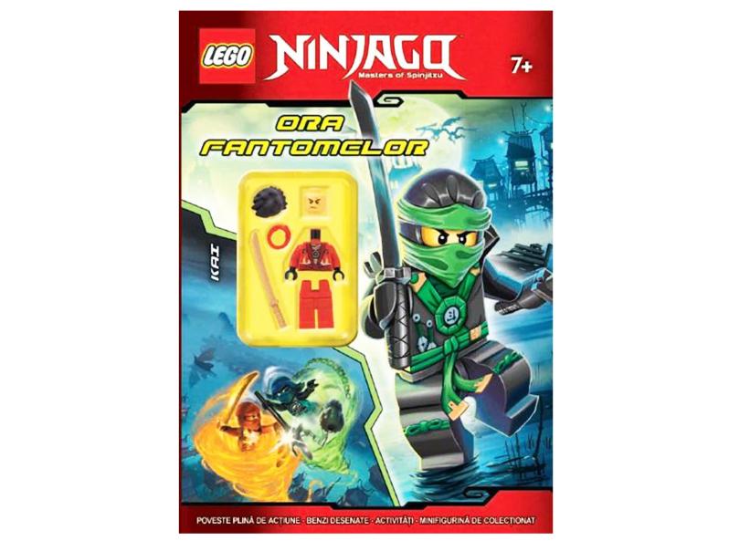 Carte lego ninjago ora fantomelor lnc 9 lei - Carte ninjago ...