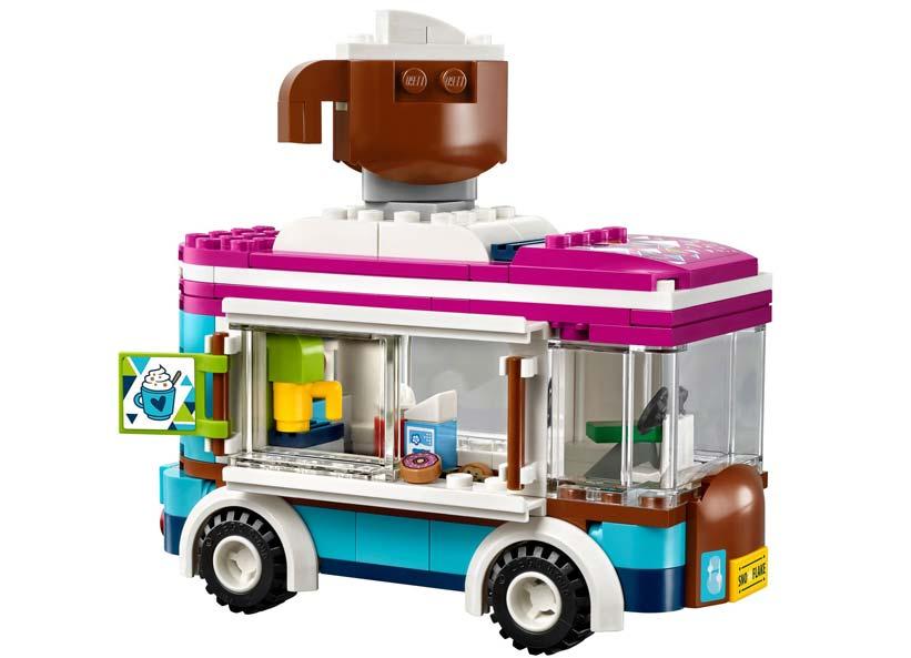 Furgoneta Cu Ciocolata Calda A Statiunii De Iarna Lego 41319