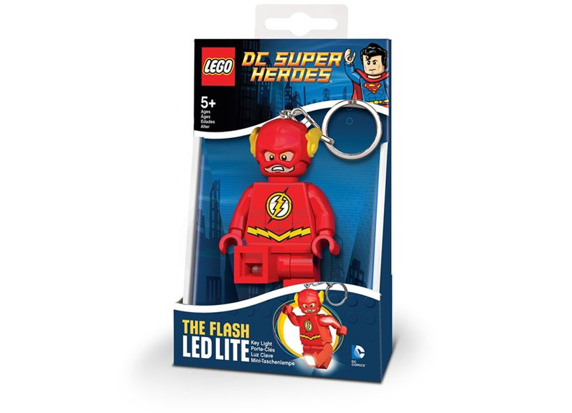 Breloc cu lanterna LEGO The Flash