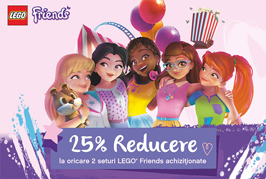 Reducere LEGO Friends