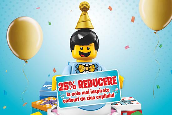 Promotie LEGO Ziua Copilului